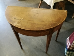 Card table in need of restoration